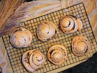 不一样的面包 蒸面包,完成