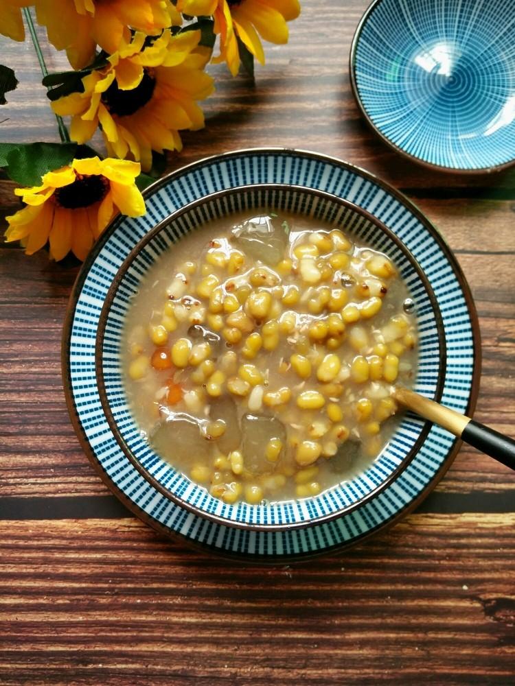 绿豆芋圆粥,夏天降火美食