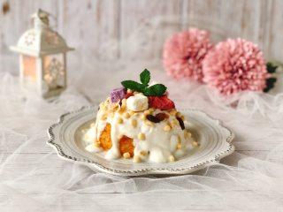 酸奶麦片红薯山药糕,颜值高又饱腹
