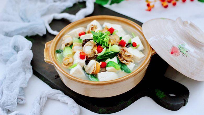 海鲜木耳豆腐羹