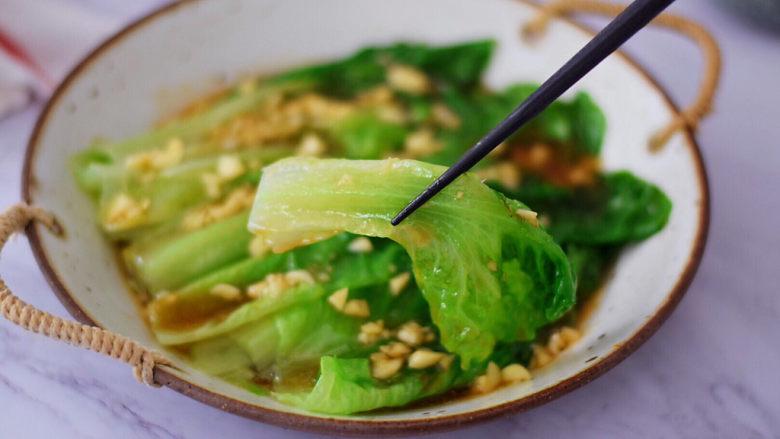 蒜蓉蚝油生菜,图三