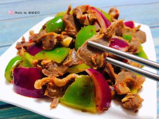 青椒炒鸡胗