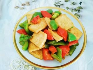 青椒炒豆腐