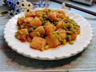蒜苔米豆腐
