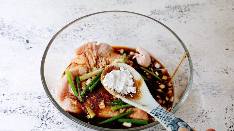电饭煲鸡腿焖饭,加入淀粉
