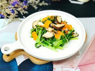 香菇炒青菜