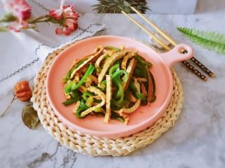 青椒炒香干,非常美味的快手菜