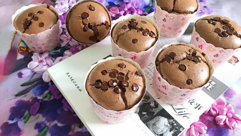 巧克力纸杯蛋糕🧁