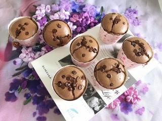 巧克力纸杯蛋糕🧁,成品图2