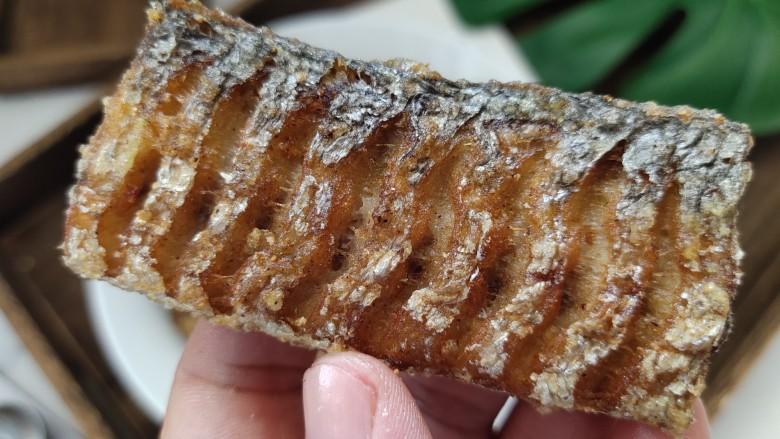 椒盐带鱼,鱼皮酥脆