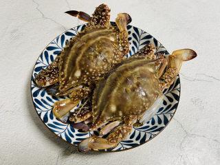 红烧梭子蟹,梭子蟹