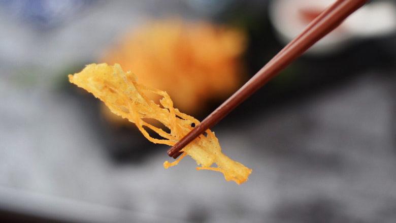 油炸金针菇,图二