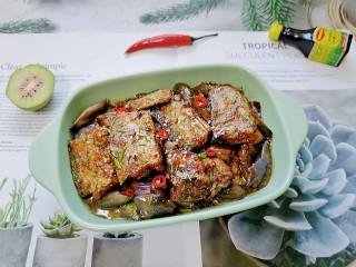 茄子烧带鱼
