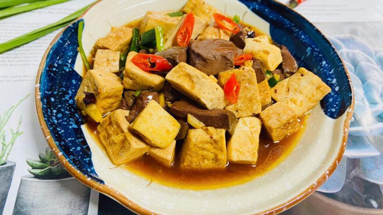 鸭血豆腐,鸭血豆腐成品图