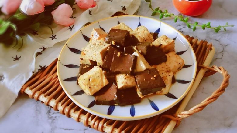 鸭血豆腐,美味下饭菜