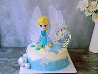 艾莎生日蛋糕