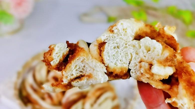 红糖花卷,面包的口感,甜而不腻。