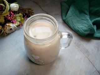 藜麦豆浆西米露