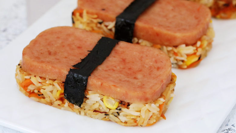 午餐肉饭团,图三