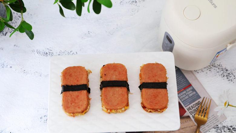 午餐肉饭团,图二