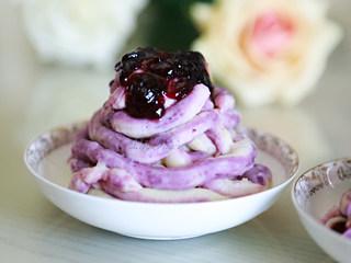 蓝莓土豆泥(芝士双薯泥)