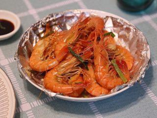 葱姜焗海虾