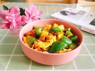 翠绿丝瓜炒蛋