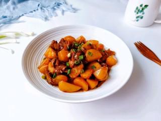 鸭翅炖土豆