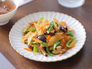 土豆香菇炒蛋