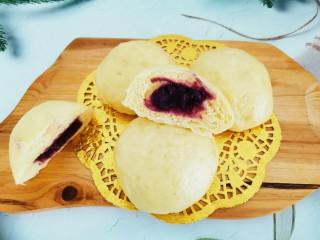 南瓜紫薯包