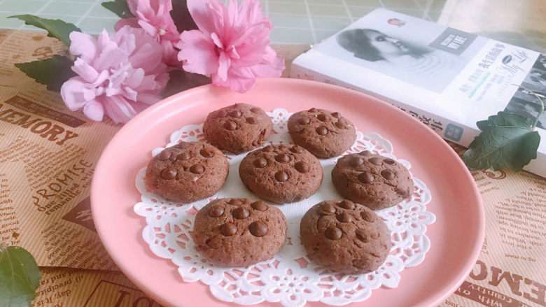 巧克力豆软曲奇饼干🍪,成品图2