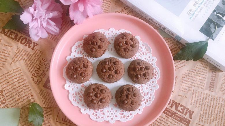 巧克力豆软曲奇饼干🍪,成品图1