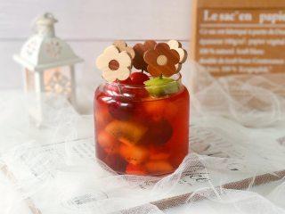 网红水果串串茶,自己在家做,好看又好吃