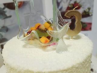 艾素糖造型水果蛋糕