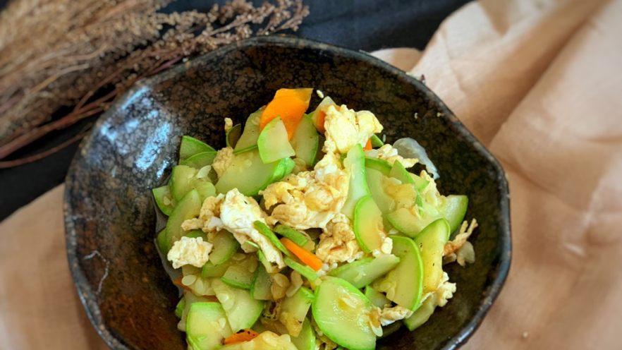西葫芦炒鸡蛋鸡蛋🥚