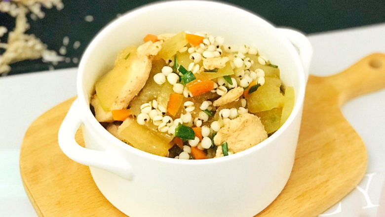 冬瓜薏米汤,特别下饭美味的汤