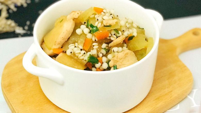 冬瓜薏米汤,成品图
