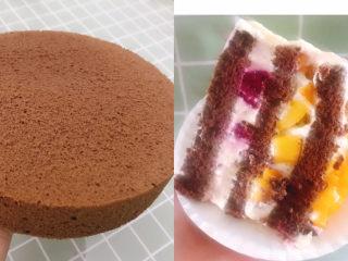 8寸巧克力戚风蛋糕🎂