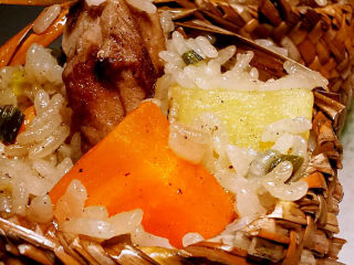 土豆排骨焖饭
