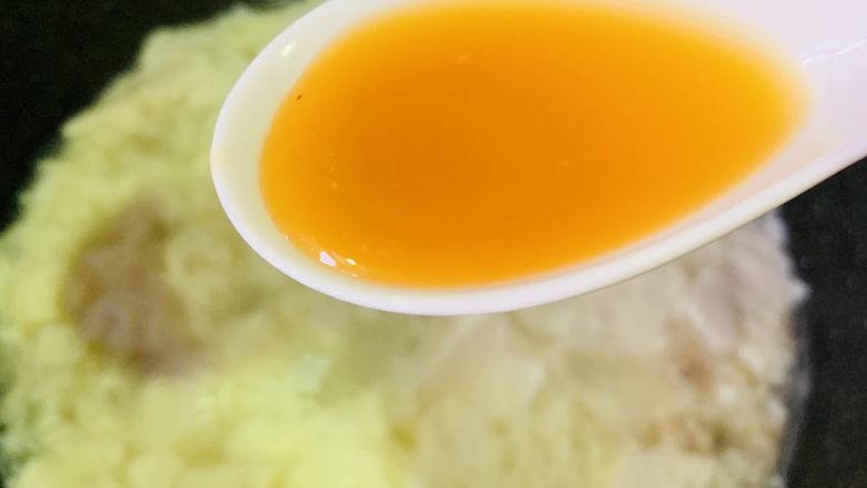 豆腐鸡蛋羹,加鲜鸡汁