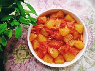 番茄烧冬瓜