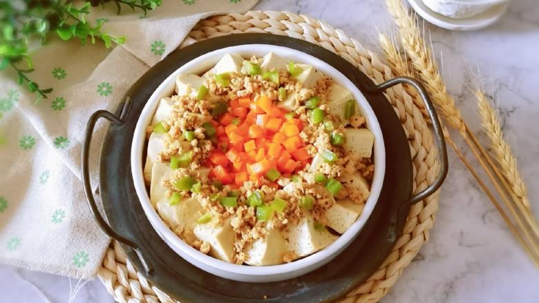 肉沫蒸豆腐,营养美味的肉沫蒸豆腐,喜欢。