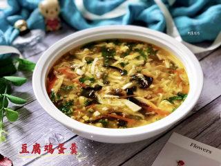 豆腐鸡蛋羹➕彩凤摇摇下翠微