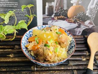 土豆排骨焖饭(电压力锅版)