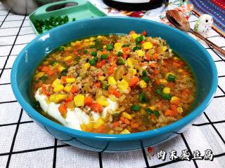 肉末蒸豆腐➕金玉满堂庆余年