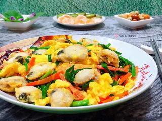 扇贝炒鸡蛋,扇贝炒鸡蛋营养丰富又好吃😋