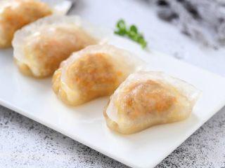 水晶蒸饺,一款美味的水晶蒸饺就做好了!
