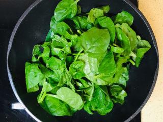 蒜泥木耳菜,加入木耳菜