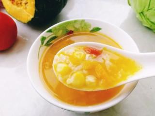 玉米南瓜粥