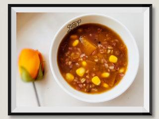 玉米南瓜粥,玉米南瓜粥,完成